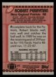 1990 Topps #420  Robert Perryman  Back Thumbnail
