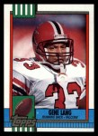 1990 Topps #475  Gene Lang  Front Thumbnail