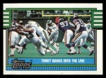 1990 Topps #513   Eagles Highlights Front Thumbnail