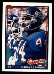 1991 Topps #27  Maurice Carthon  Front Thumbnail
