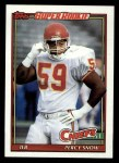 1991 Topps #139  Percy Snow  Front Thumbnail