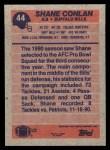1991 Topps #44  Shane Conlan  Back Thumbnail