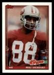 1991 Topps #65  Mike Sherrard  Front Thumbnail