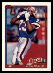 1991 Topps #55  Kenneth Davis  Front Thumbnail