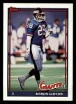 1991 Topps #34  Myron Guyton  Front Thumbnail