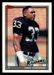 1991 Topps #93  Eddie Anderson  Front Thumbnail