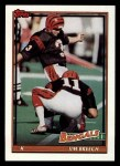 1991 Topps #251  Jim Breech  Front Thumbnail
