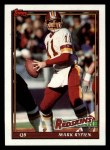 1991 Topps #192  Mark Rypien  Front Thumbnail