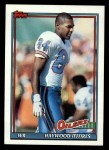 1991 Topps #230  Haywood Jeffires  Front Thumbnail