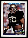 1991 Topps #177  Chris Zorich  Front Thumbnail