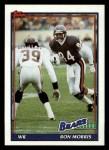 1991 Topps #162  Ron Morris  Front Thumbnail