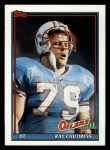 1991 Topps #223  Ray Childress  Front Thumbnail