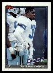 1991 Topps #357  James Washington  Front Thumbnail