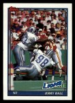 1991 Topps #413  Jerry Ball  Front Thumbnail