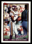 1991 Topps #387  Mike Merriweather  Front Thumbnail