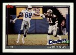 1991 Topps #368  Michael Irvin  Front Thumbnail