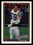 1991 Topps #376  Todd Kalis  Front Thumbnail