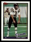 1991 Topps #431  John Carney  Front Thumbnail