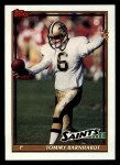 1991 Topps #320  Tommy Barnhardt  Front Thumbnail