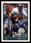 1991 Topps #416  Andre Ware  Front Thumbnail