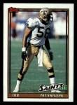1991 Topps #315  Pat Swilling  Front Thumbnail