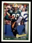 1991 Topps #441  Charles Wilson  Front Thumbnail