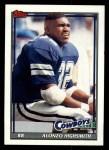 1991 Topps #364  Alonzo Highsmith  Front Thumbnail