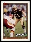 1991 Topps #318  Sam Mills  Front Thumbnail