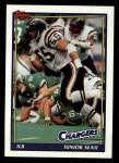 1991 Topps #427  Junior Seau  Front Thumbnail