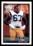 1991 Topps #543  Duval Love  Front Thumbnail