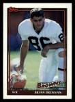 1991 Topps #604  Brian Brennan  Front Thumbnail
