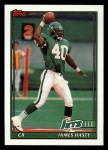 1991 Topps #480  James Hasty  Front Thumbnail