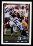 1991 Topps #533  Mike Wilcher  Front Thumbnail