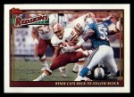 1991 Topps #655   Redskins Leaders Front Thumbnail