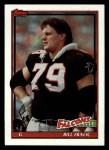 1991 Topps #571  Bill Fralic  Front Thumbnail