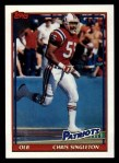1991 Topps #613  Chris Singleton  Front Thumbnail