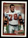 1991 Topps #583  Mike Kenn  Front Thumbnail