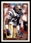 1991 Topps #589  Eric Turner  Front Thumbnail