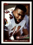 1991 Topps #517  Anthony Thompson  Front Thumbnail