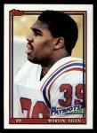 1991 Topps #626  Marvin Allen  Front Thumbnail