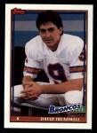 1991 Topps #566  David Treadwell  Front Thumbnail