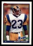1991 Topps #531  Michael Stewart  Front Thumbnail
