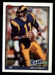 1991 Topps #532  Jim Everett  Front Thumbnail