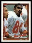 1991 Topps #485  Bruce Hill  Front Thumbnail