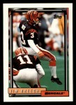 1992 Topps #33  Jim Breech  Front Thumbnail