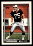 1992 Topps #124  Howie Long  Front Thumbnail