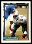 1992 Topps #94  Vestee Jackson  Front Thumbnail