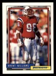 1992 Topps #101  Brent Williams  Front Thumbnail