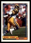1992 Topps #196  Michael Stewart  Front Thumbnail