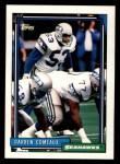 1992 Topps #157  Darren Comeaux  Front Thumbnail